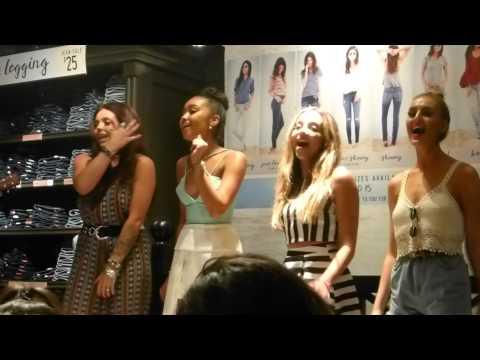 Little Mix - Black Magic (Acoustic) - Hollister VIP Event - Scottsdale, AZ - 8.9.15