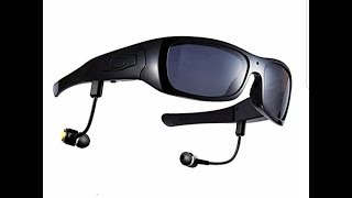 Forestfish Bluetooth/Hidden Camera Sunglasses Unboxing Review