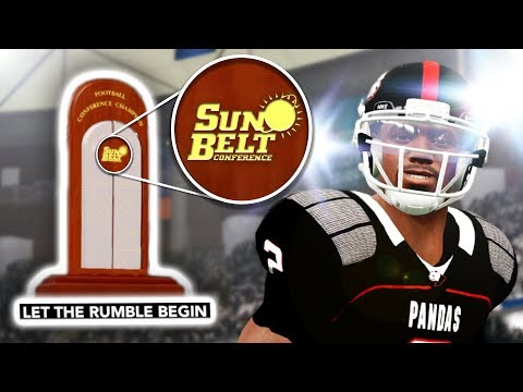 Sun Belt Conference Championship! | NCAA 14 Team Builder Dynasty Ep. 33 (S3)