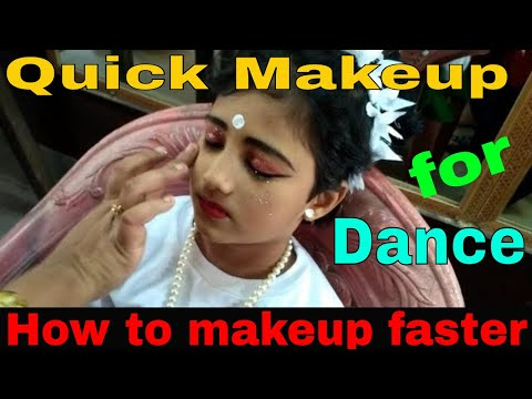 How To Makeup Faster For Dance | Quick Makeup For Dance