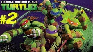 Nickelodeon Teenage Mutant Ninja Turtles (Wii) Part 2 Underground