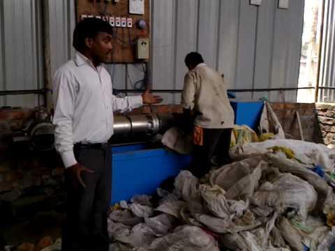 Waste Recyling Unit process