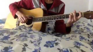 On rainy days-BEAST guitar