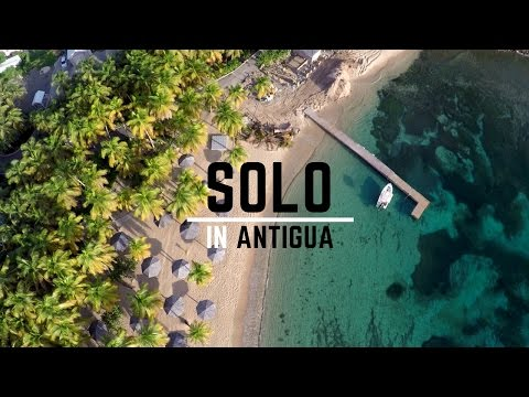 The Best Drone Video Ever? (Flying Solo In Antigua)