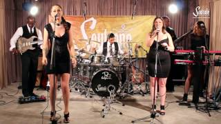 Road Scholars performing Chandelier by Sia, featuring Rachel Lynn Sebastian on lead vocals