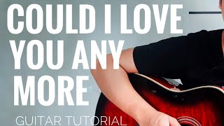 Could I Love You Any More Guitar Chords Tutorial Jason MrazRenee Dominiquey