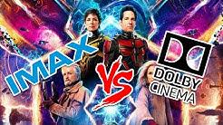 IMAX vs Dolby Cinema. What