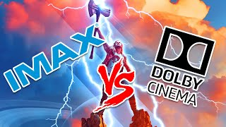 IMAX vs Dolby Cinema. What's better? Avengers Endgame/Infinity War