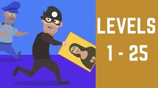 Master Thief Game Walkthrough Level 1-25