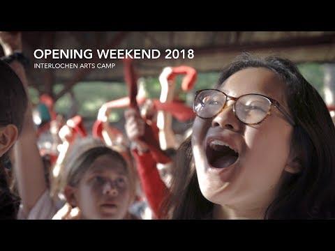 Interlochen Arts Camp 2018 Opening Weekend