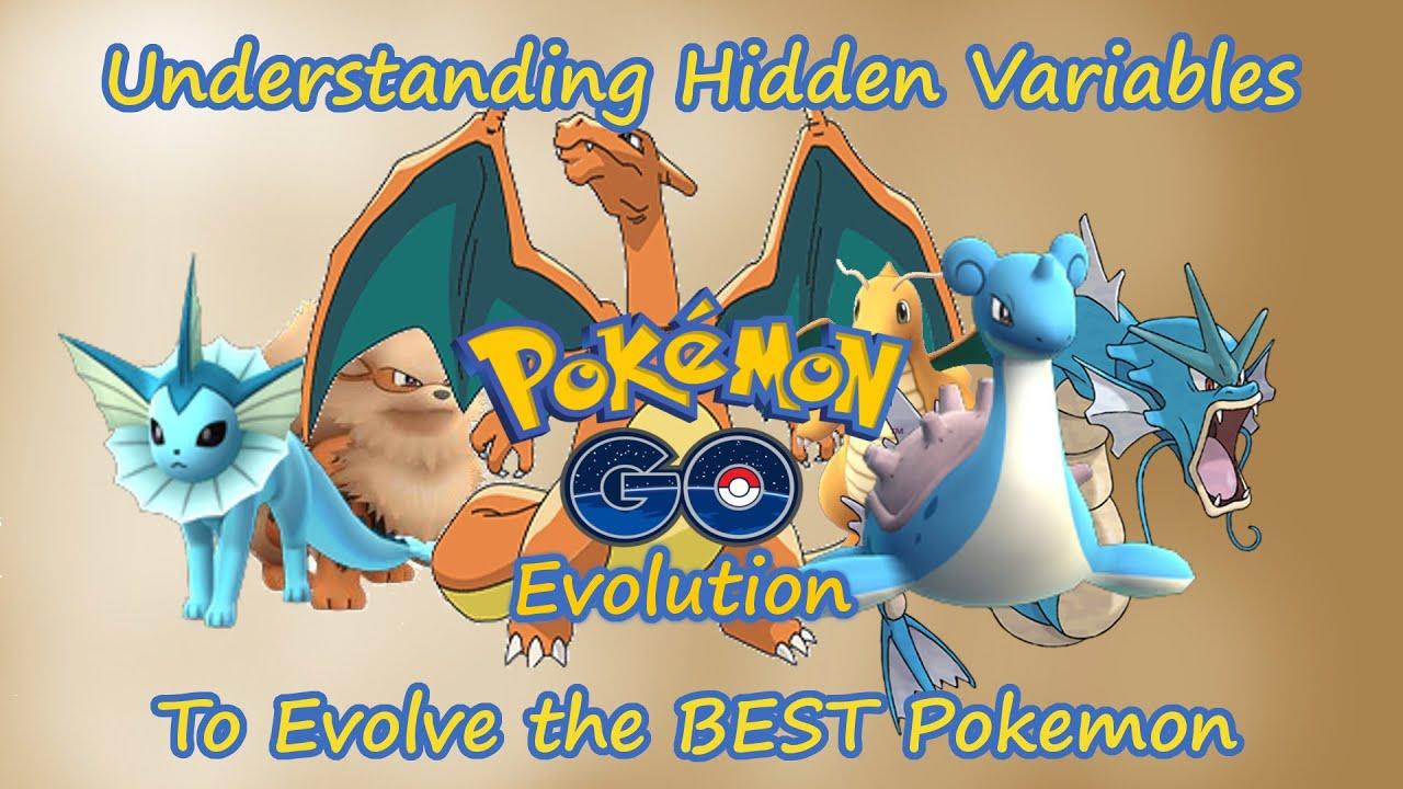 Pokemon Go: Evolution - Understanding Hidden Variables For the BEST Pokemon  CP IV STAB Movesets