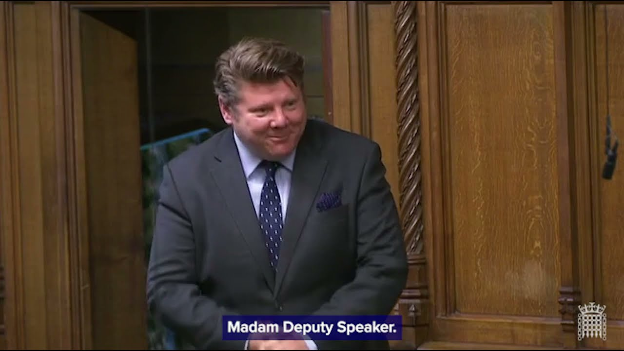 Speech: Dean Russell MP Proposes Tips Bill To Parliament