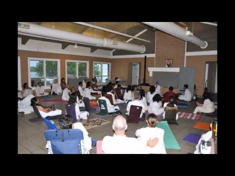 Glimpses of Retreats with Swami Anand Arun - July 2012 - Cruise, Dallas and NY, USA