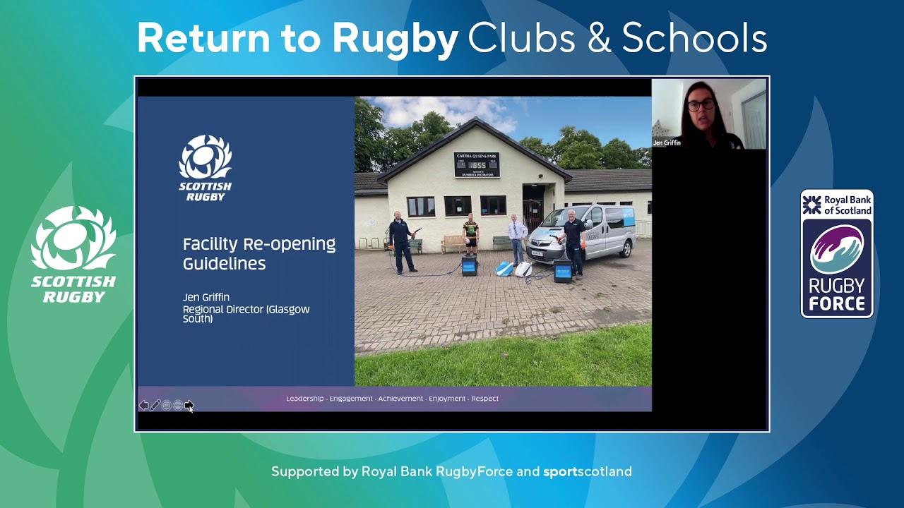 Webinar | Return To Rugby | Stage 3