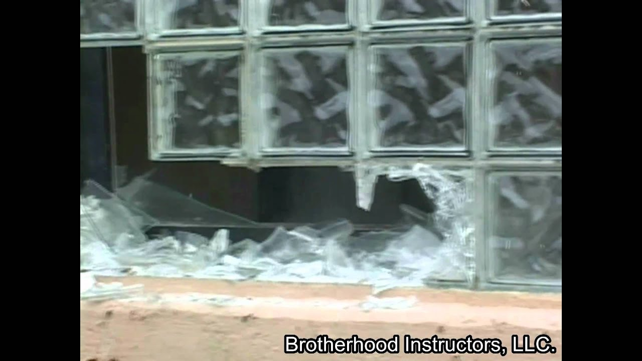 Ventilation Removing Glass Block Windows Efficiently YouTube