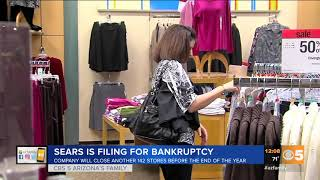 VIDEO: Several Sears stores closing in Arizona