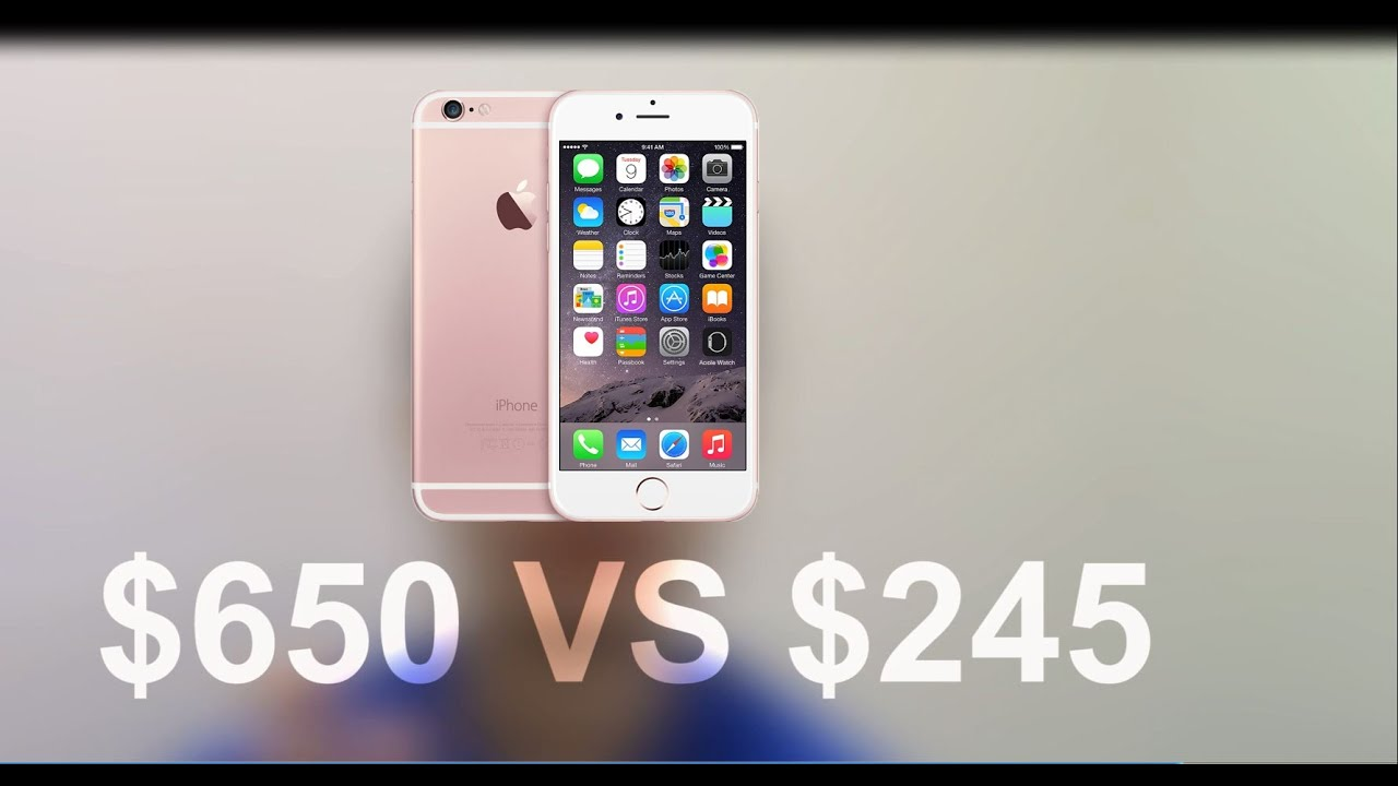 cost of an iphone 6 how much does the iphone 6s really cost 16835