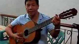 The Our Father in Tagalog, guitar and vocals of Tito Jun. Padua