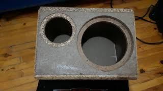 20cm bass kabin 1. kalite mdf yalanı
