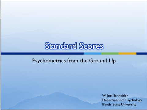 9. Standard Scores (and Why We Need Them)