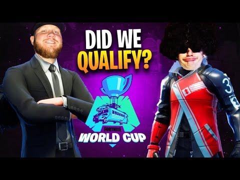 THE MOST PREPARED I'VE EVER FELT... FORTNITE WORLD CUP QUALIFIERS W/ HIPPIE HABITAT!!