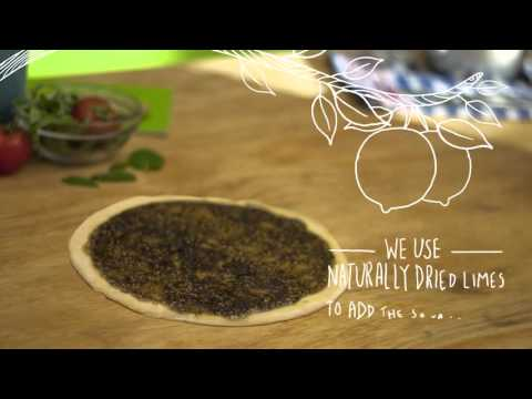 Zaatar W Zeit Ad - Premium Flour & Zaatar Mix