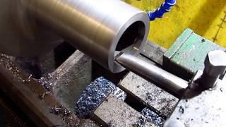 Шпиндель и корпус/пиноль для самодельной сверлилки