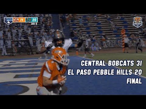 BOBCATS GAME NIGHT- San Angelo Central 31 El Paso Pebble Hill 20 FINAL [HIGHLIGHTS] 9-21-18