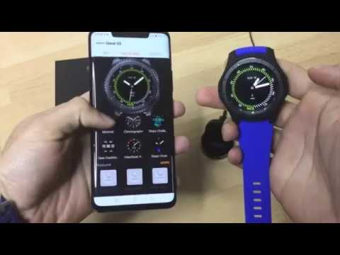 How To Pair Galaxy Gear S3 With Huawei Mate 20 Pro