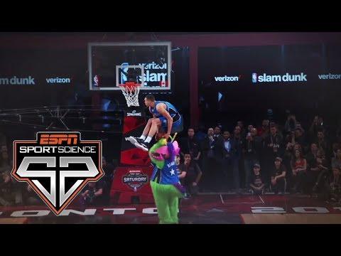 2016 Slam Dunk Contest   Sport Science   ESPN Archives