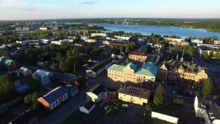 The beautiful city of Haparanda captured with DJI Inspire 1