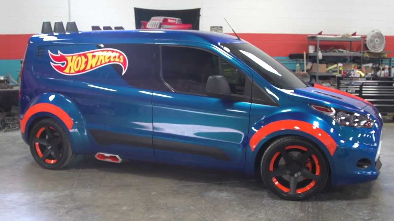 2014 Ford Transit Connect Hot Wheels concept presentation - YouTube