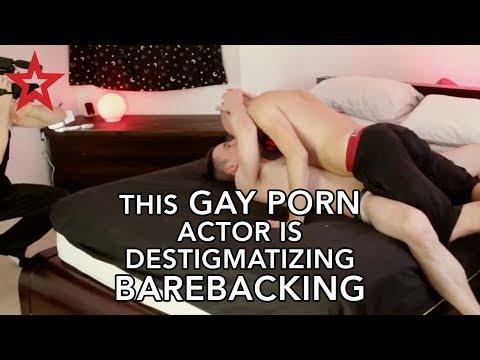 The Gay Porn Actor Is Destigmatizing Barebacking