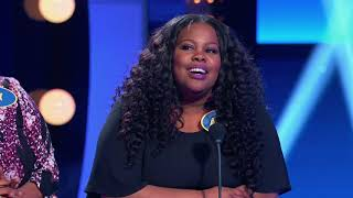 Amber Riley Fast Money – Celebrity Family Feud