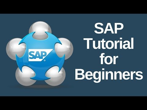 SAP Tutorial for Beginners
