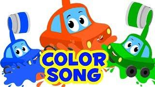 цветная песня | детские рифмы | узнать цвета | Kids Learning | Russian Kids Rhymes | Color Song