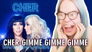 CHER - GIMME GIMME GIMME (A MAN AFTER MIDNIGHT) ABBA COVER REACTION | Sisley Reacts