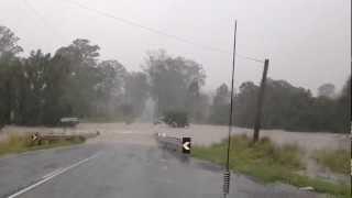 Australian Floods 2013, Gympie, Queensland.