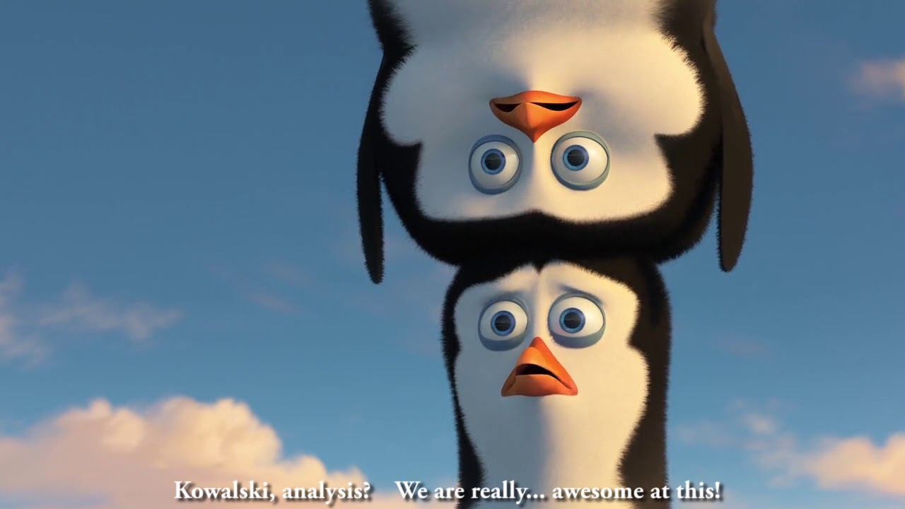 Penguins of Madagascar - We are awesome at this