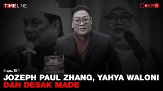 Denny Siregar: JOZEPH PAUL ZHANG, YAHYA WALONI, DAN DESAK MADE