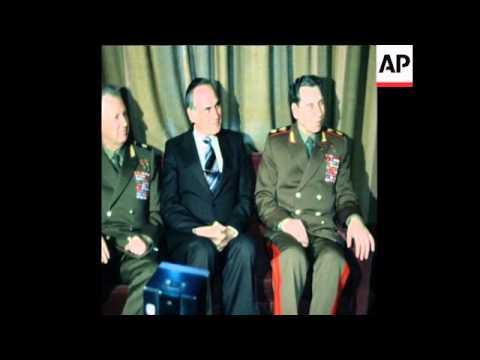 SYND 26 4 78 SOVIET CHIEF OF STAFF OGARKOV VISITS TURKEY