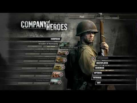 CoH: Singleplayer ( Episode #1, Omaha Beach ) |