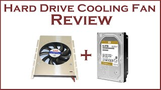 Hard Drive Cooling Fan Review and Temperature Demo