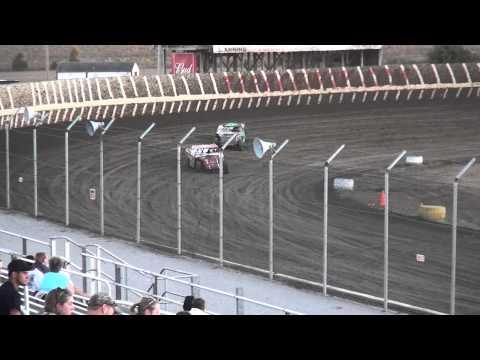 IMCA Northern Sport Mod heat 1 34 Raceway 9/19/15