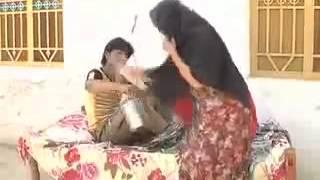 Funny pothwari drama Dadyal mangla dam Dadyal mela 2013
