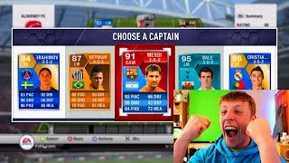 W2S GETS THE BEST RETRO 195 FUT DRAFT IN FIFA HISTORY