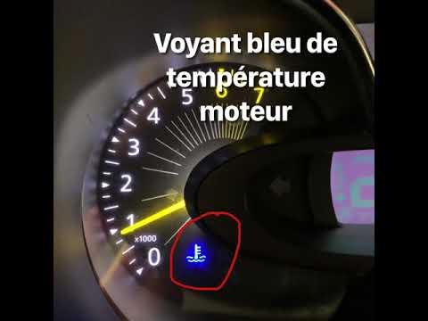 Voyant Bleu Tableau De Bord Temperature Moteur Youtube
