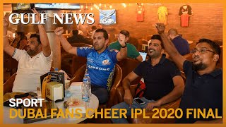 IPL 2020: Cricket fans in Dubai converge for the final between Mumbai Indians and Delhi Capitals