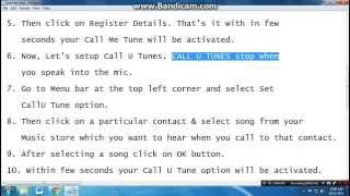 How to set a free caller tune to phone | Free of cost