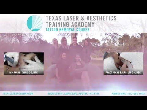 Laser Tattoo Removal Training Course | Texas Laser & Aesthetics Training Academy